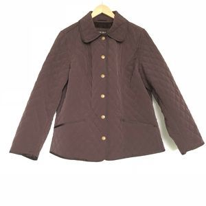 Lane Bryant Quilted Button Front Lined Jacket